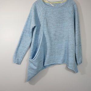 Calvin Klein Tops - Calvin Klein Performance Quick Dry Blue Top